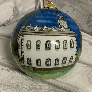 Kirtland Ohio Temple Glass Ornament LDS Mormon